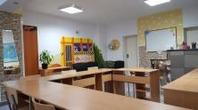 """Снимки и видео на занималня """"Фантазия"""" - Учебна стая с карта на света 3"""
